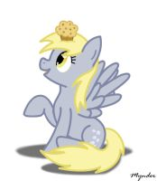Derpy, Want a Muffin? by Mynder