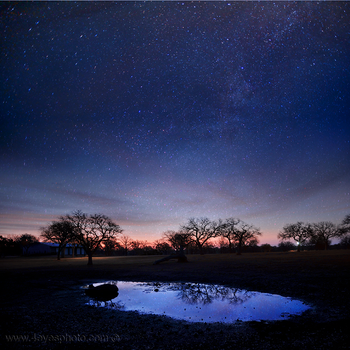 Texas Night Sky by foureyes