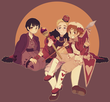 quietly uploads hetalia fanart inthe dead of night by katidoj