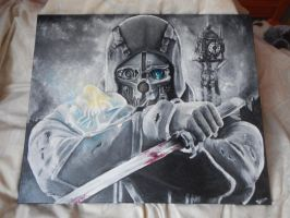Dishonored, third oil painting by ettegruoc