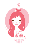 HAPPY NEW YEAR 2014 by melaniolivia