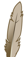 Brown Feather by Rayne-Feather
