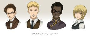 BACCANO characters part 10 by NicoleCover