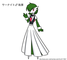 Butler Gardevoir by The-Clockwork-Crow