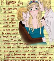 APH: If England is a girl by natersal