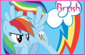 Brash Rainbow Dash sig by AliceHumanSacrifice0