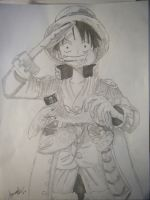Straw Hat Luffy by Roxxy-126
