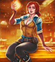 Triss Merigold turns up the heat by bobcow09