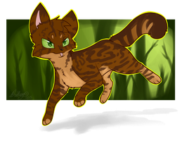 The Nut Doesn't Fall far from the Tree by Bluefire-kitteh