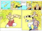 DBZ Comic: Broly - final page by ssjgogeto