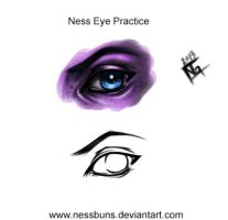 Eye Practice by NessBuns