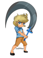 Toon Link by IsidithRose