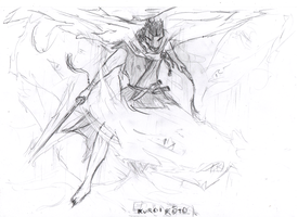 entry Contest:Bleach OC bankai by rawis007