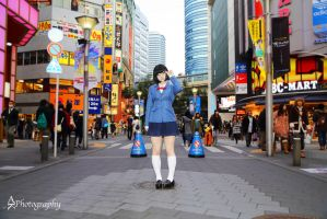 Anri in Sunshine City by EmberFox666