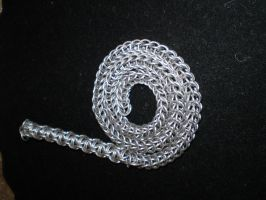 Chainmaille Whip of Dewm by TheyCallMeMewt