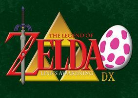 The Legend of Zelda Link's Awakening DX Logo by Moelleuh
