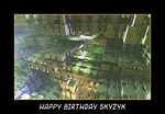 happy birthday skyzyk by fraterchaos