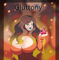 Gluttony by Ladycandy2011