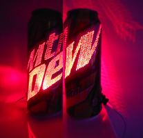 24 Oz. Mountain Dew Can Light V by chaptmc