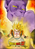 battle of gods dbz by salvamakoto