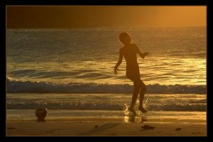 Beach soccer by nikongriffin