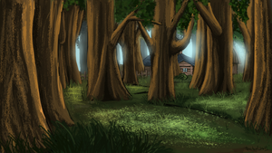 Day 3 - Forest/Jungle by TheSpectral-Wolf