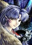 Coloring Sesshomaru is fun by Soreiya