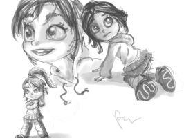 vanellope von schweetz by 72-Hours-Remain