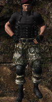 Krauser RE4 UPDATED BONE FIX by a-m-b-e-r-w-o-l-f