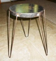 Metal stool made by my son by AG88