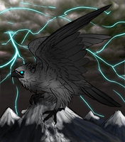 Titan of The Storms by MissThunderkin