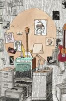 The Guitar Room by egonSchiele