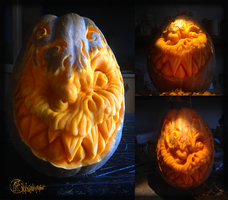 Pumpkin Carving by kachaktano