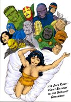 TLIID 255 Jack Kirby tribute Beautiful Dreamer by Nick-Perks