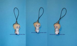 Canada cell phone charm by lysen