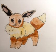 Eevee redraw by Car-lover33
