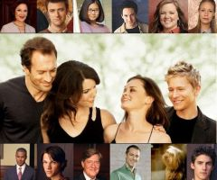 Gilmore girls cast by Girl-Gilmore-1994