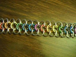 Basic rainbow bracelet by lunabellvarga