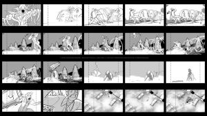 Storyboards - Char Gar 4 by joeymasonart