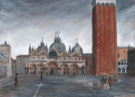 Saint Mark's Square Venice by dashinvaine