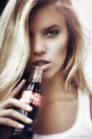 Coca Cola girl by karen-abramyan