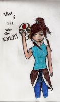 What if she was your enemy by xogirlxo78