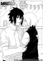 SasuSaku The celebration by byBlackRose