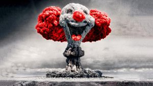 Mushroom Cloud Clown by loxsox