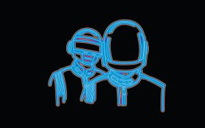 Daft Punk Retro by Billysut