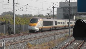 Eurostar Class 373 at Ebbsfleet International by The-Transport-Guild