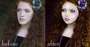 Princess Before-after by Onceuponatime13