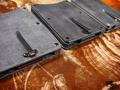 O'Dell Studios Micarta Card Wallets by cityofthesouth