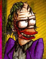 krusty joker by therealarien