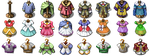 RPG Maker VX/Ace - Clothes by Ayene-chan
